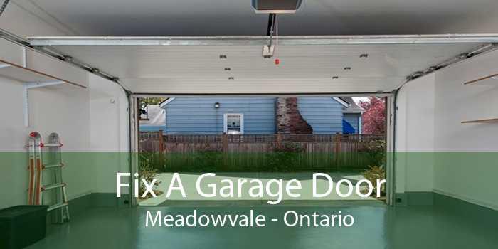 Fix A Garage Door Meadowvale - Ontario