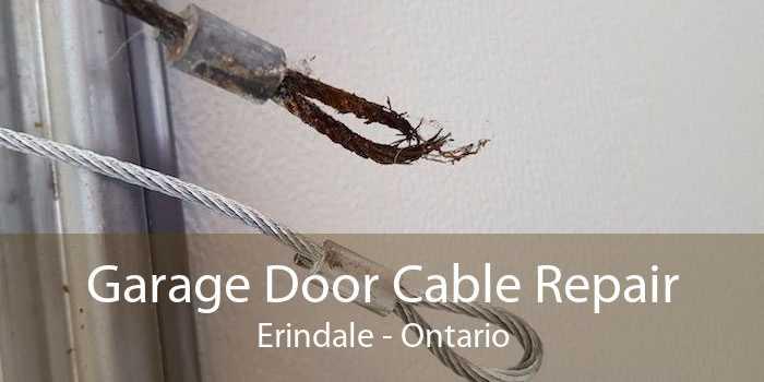 Garage Door Cable Repair Erindale - Ontario