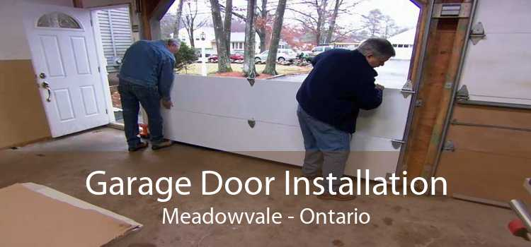 Garage Door Installation Meadowvale - Ontario