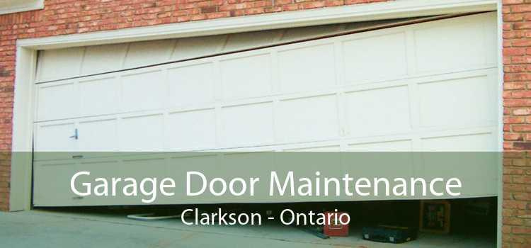 Garage Door Maintenance Clarkson - Ontario