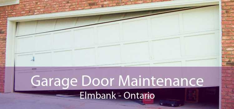 Garage Door Maintenance Elmbank - Ontario