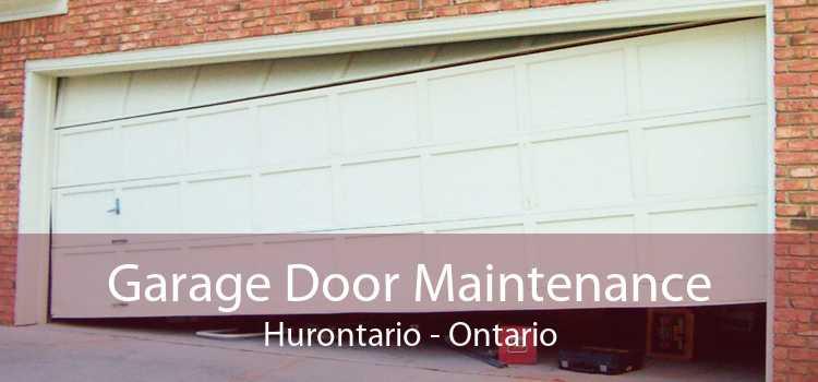 Garage Door Maintenance Hurontario - Ontario