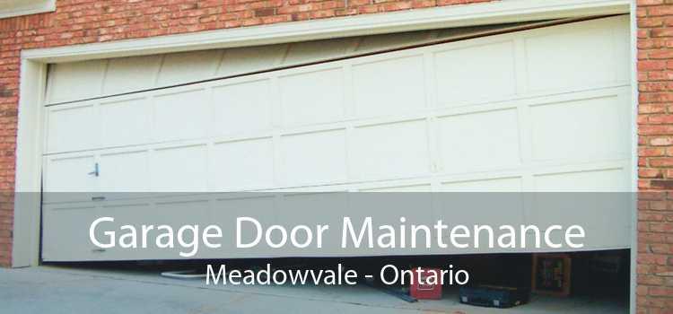 Garage Door Maintenance Meadowvale - Ontario