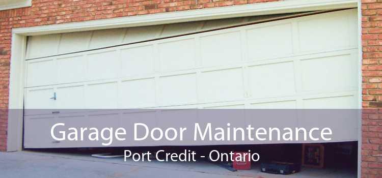 Garage Door Maintenance Port Credit - Ontario