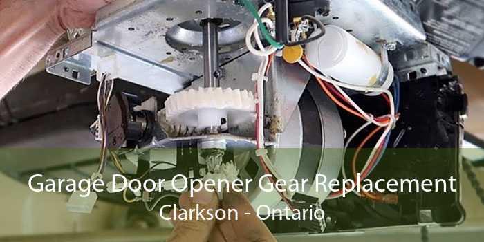 Garage Door Opener Gear Replacement Clarkson - Ontario