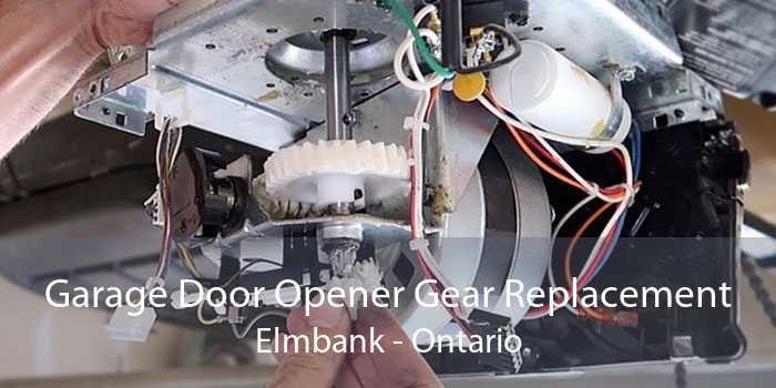 Garage Door Opener Gear Replacement Elmbank - Ontario