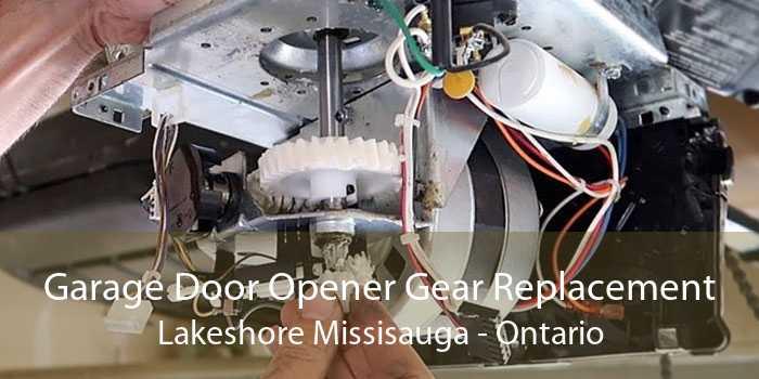 Garage Door Opener Gear Replacement Lakeshore Missisauga - Ontario