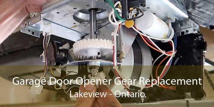 Garage Door Opener Gear Replacement Lakeview - Ontario