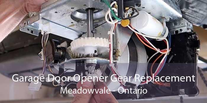 Garage Door Opener Gear Replacement Meadowvale - Ontario