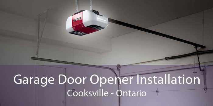Garage Door Opener Installation Cooksville - Ontario