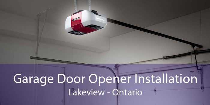 Garage Door Opener Installation Lakeview - Ontario