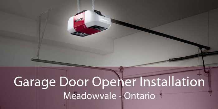 Garage Door Opener Installation Meadowvale - Ontario