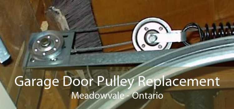Garage Door Pulley Replacement Meadowvale - Ontario