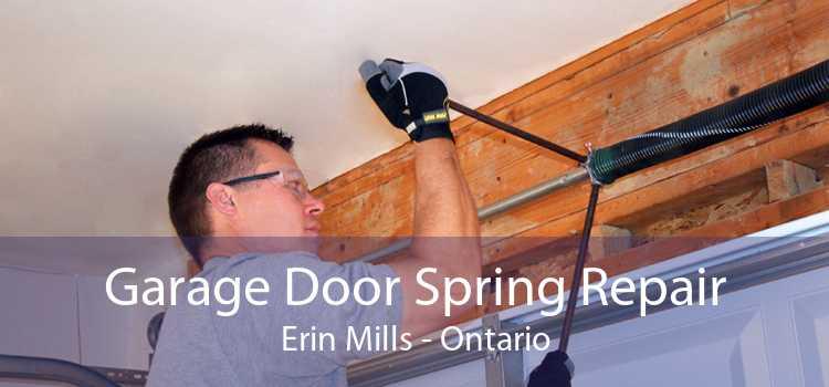 Garage Door Spring Repair Erin Mills - Ontario