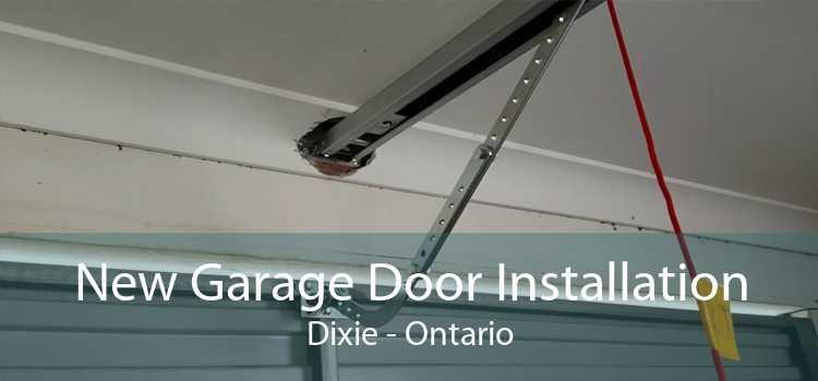 New Garage Door Installation Dixie - Ontario