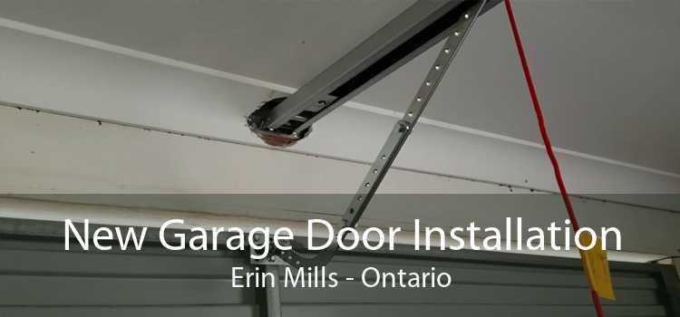 New Garage Door Installation Erin Mills - Ontario