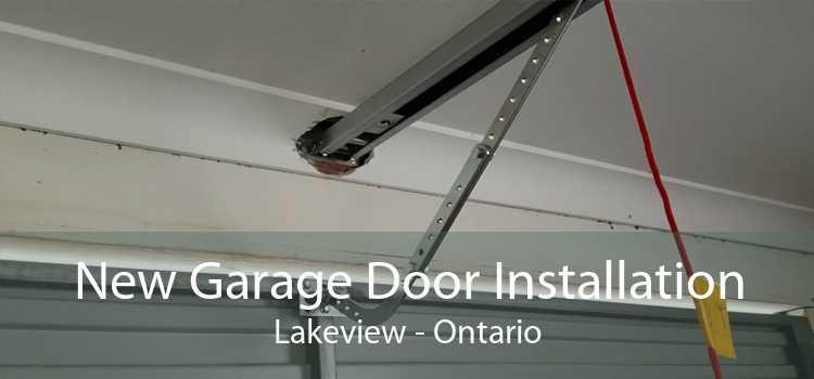 New Garage Door Installation Lakeview - Ontario