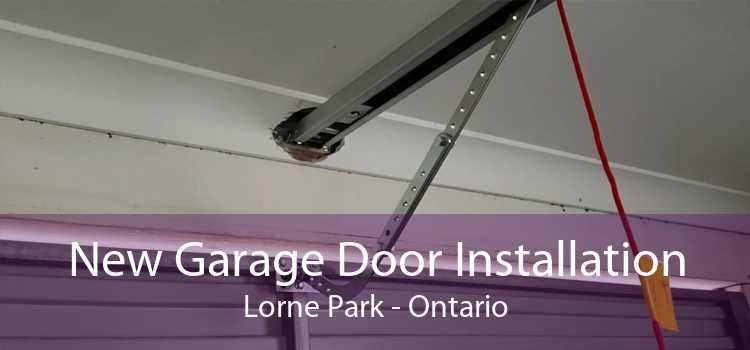 New Garage Door Installation Lorne Park - Ontario
