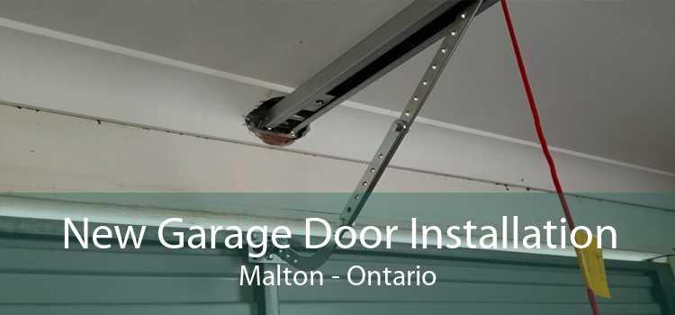 New Garage Door Installation Malton - Ontario