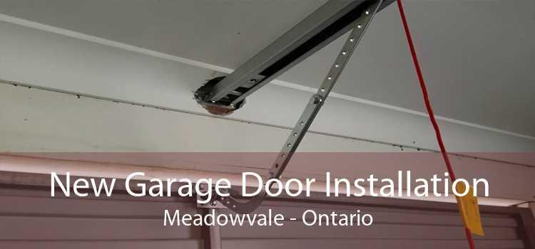 New Garage Door Installation Meadowvale - Ontario