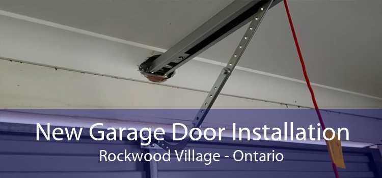 New Garage Door Installation Rockwood Village - Ontario