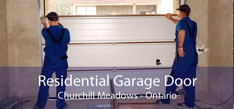 Residential Garage Door Churchill Meadows - Ontario