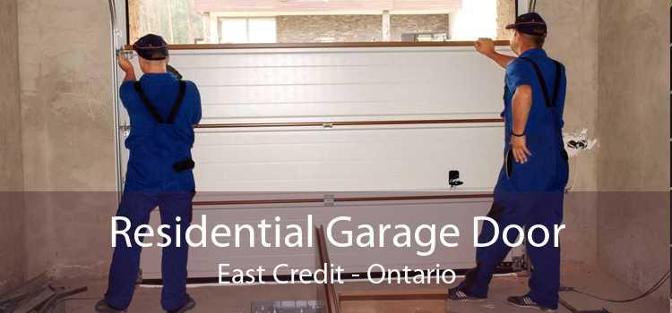Residential Garage Door East Credit - Ontario