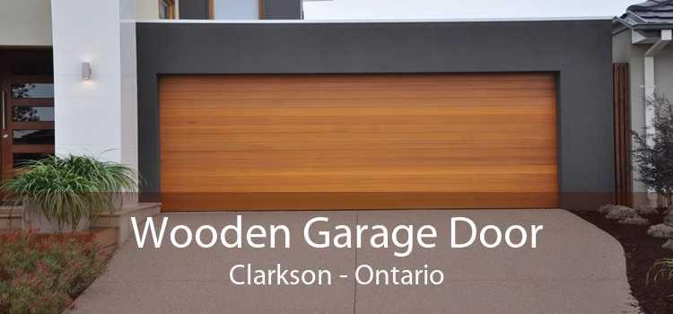 Wooden Garage Door Clarkson - Ontario