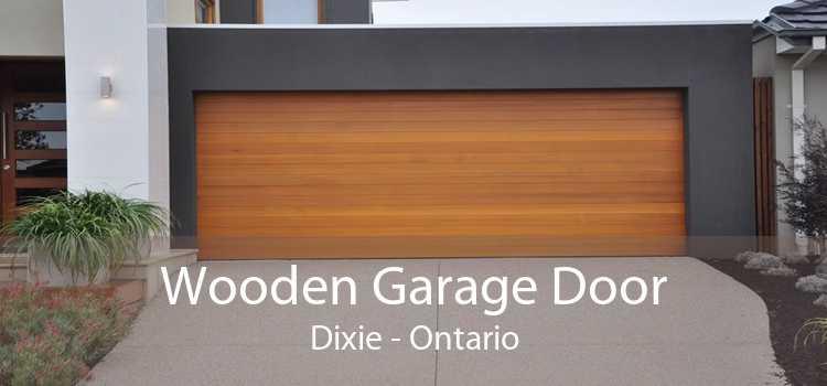Wooden Garage Door Dixie - Ontario