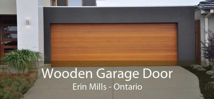 Wooden Garage Door Erin Mills - Ontario