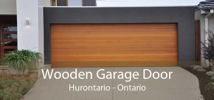 Wooden Garage Door Hurontario - Ontario