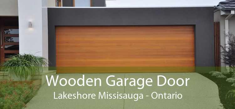 Wooden Garage Door Lakeshore Missisauga - Ontario