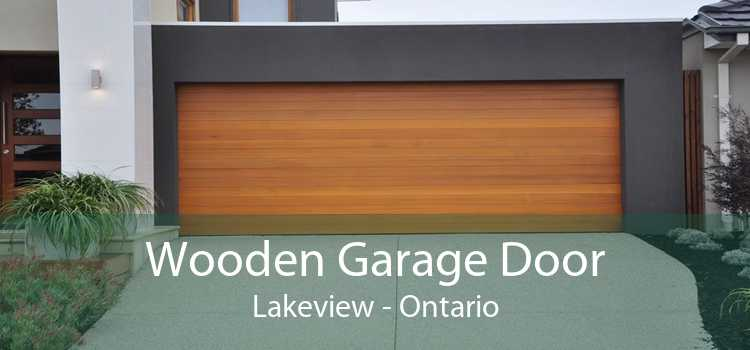 Wooden Garage Door Lakeview - Ontario