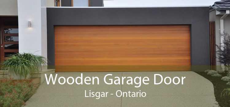 Wooden Garage Door Lisgar - Ontario