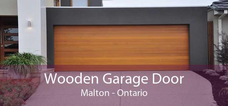 Wooden Garage Door Malton - Ontario