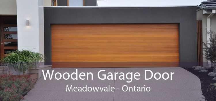 Wooden Garage Door Meadowvale - Ontario